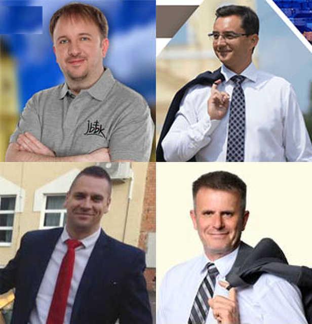 polgármesterjelöltek - választás