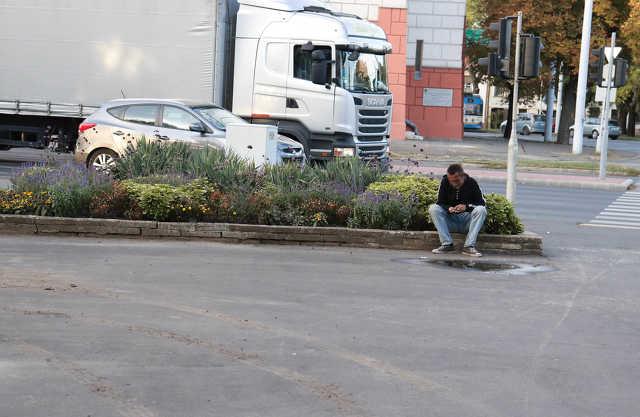 hajléktalan - Árpád tér