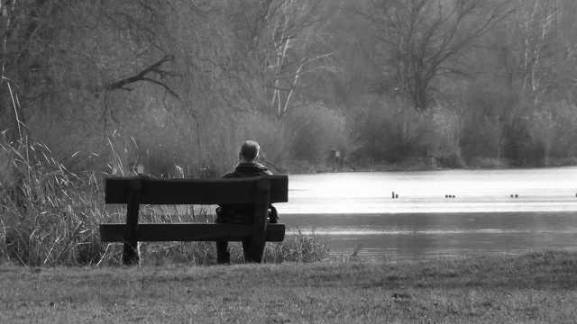 Vekeri-tó - magány - egyedül