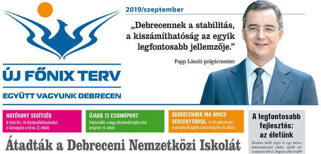 Papp László - kampány - választás - Új Főnix Terv