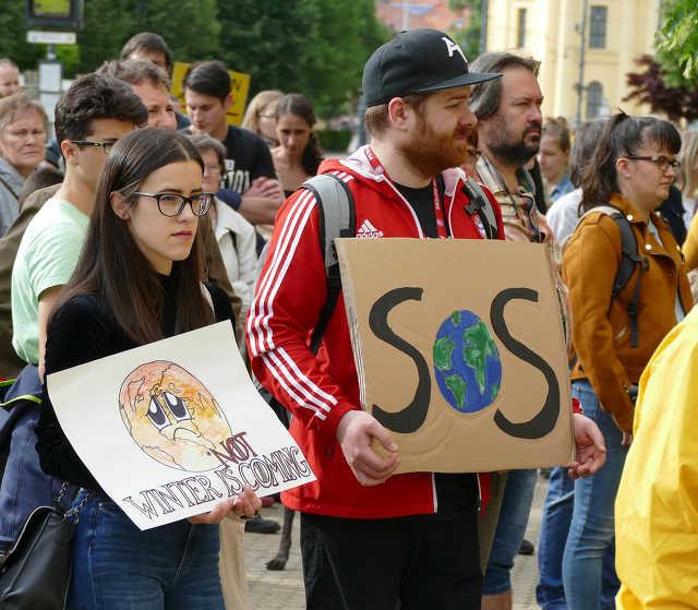 Klímasztrájk - Debrecen, 2019. május 24.