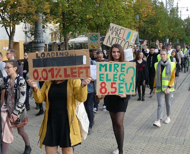 III. Globális Klímasztrájk - Debrecen, 2019. szeptember 27.