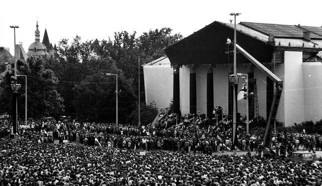 Nagy Imre és mártírtársai újratemetése - 1989. június 16.