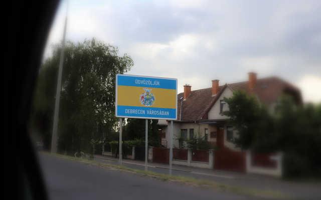 Debrecen várostábla
