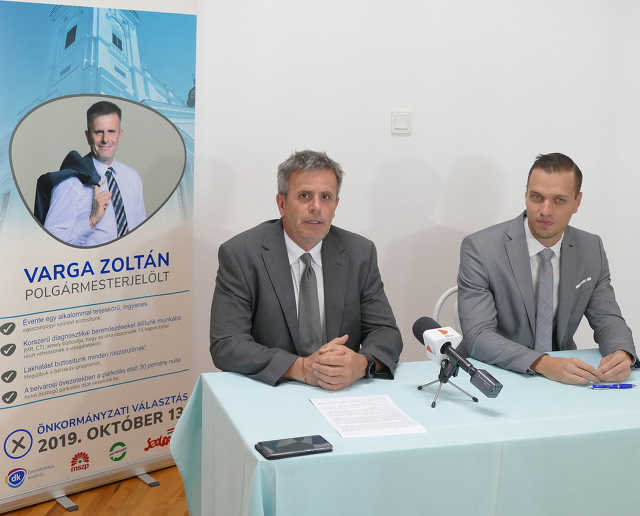 Varga Zoltán és Vaszkó Imre