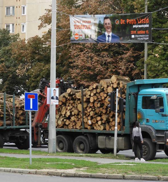 plakát - Fidesz - választás - Papp László