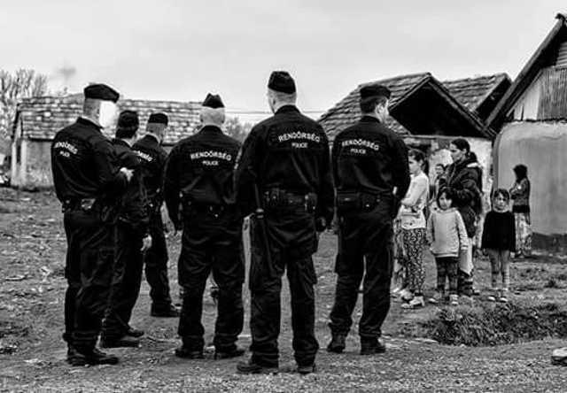 cigány - rendőr - Horváth Ferenc