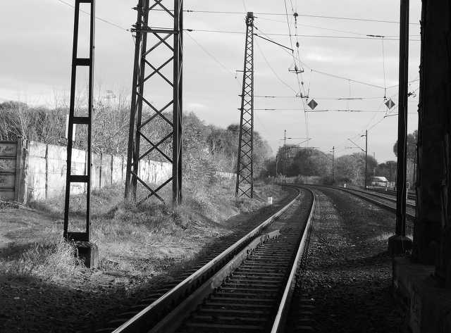 vasút - sín