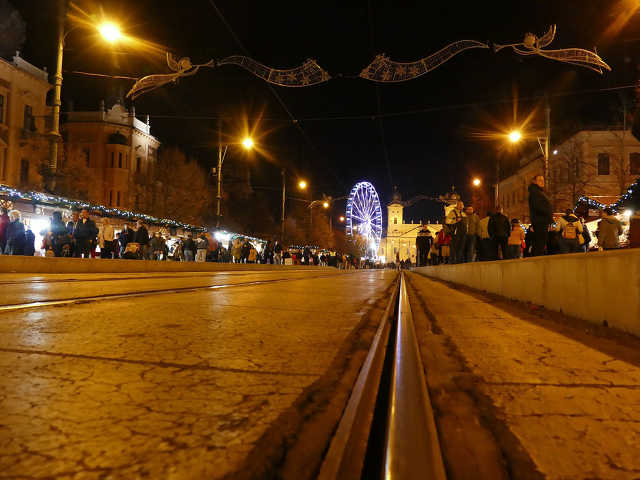 Karácsonyi vásár – Debrecen, 2019.