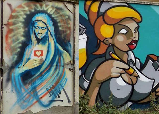graffiti - Cegléd utca
