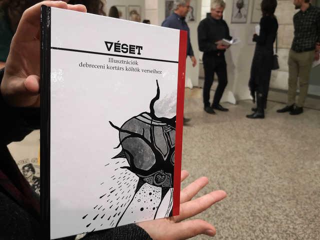 Véset - Diákok illusztrálták kortárs debreceni költők verseit